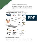 Herramientas e Instrumentos Mecánicas