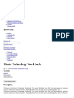 Music Technology Workbook _ Chord (Music) _ Music