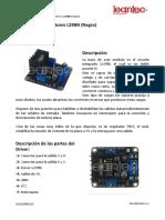 Información L298N Negro