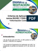 Criterios Aplicación ISO 17020