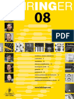 Behringer Full Line Catalog 2008 Spanish
