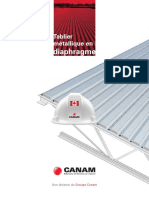 Canam Tablier Metallique en Diaphragme Canada