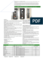 Estap Technical Data Sheet Free Standing Cabinets Universall