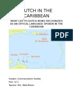 Dutch in the Caribbean