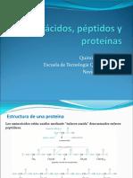 Aminoácidos, Péptidos y Proteinas