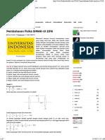 Pembahasan Fisika SIMAK-UI 2016 - Fisika Sekolah