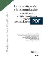 """Vasallo de Lopes - """"La investigación de la comunicación"""