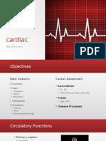 cardiac presentation
