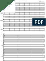 Page vierge Symphonique taille réduite