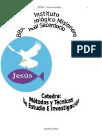 Metodos y Tecnicas de Estudio e InvestigaciÓn 2006 - 2007