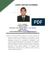 CV Jose Ventura Gutierrez Plaza Norte