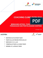 Coaching Clinic TKDN_Oktober 2016