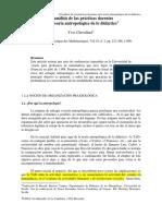 1999 El Análisis de Las Prácticas Docentes