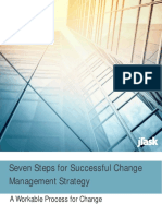 Seven Steps for Successful Change Management Strategy