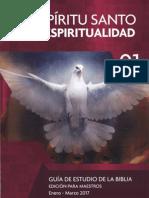 El Espíritu Santo y La Espiritualidad