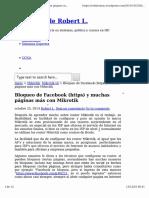 Bloqueo FaceBook MikroTik