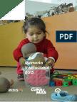 Memoria Anual 2015-PNCM