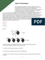 eco lab 15 principles of inheritance 2015