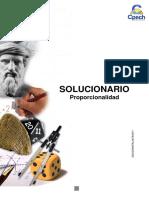 Solucionario Guía Práctica Proporcionalidad 2013