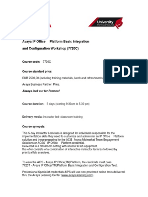 avaya-ip-office™-platform-basic-integration-and