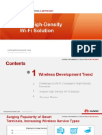 Conference Keynote Slides-HUAWEI High-Density Wi-Fi Solution
