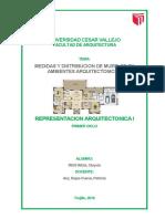 Distribucion de Muebles en Ambientes Arquitectonicos