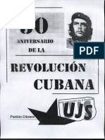 Partido Obrero, 50 aniversario de la revoluci+¦n cubana (UJS) OCRed
