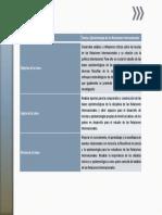 Teoría y Epistemología de Las Relaciones Internacionales
