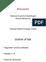 NCHRH Discussion Chennai AZ June 18