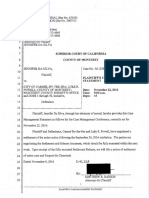 16 11-08 Pltf's Case Mgmt Stmt_Redacted