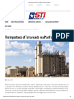 The Importance of Turnarounds in a Plant's Operations