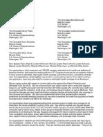 ACP AAFP AAP ACOG Letter on ACA