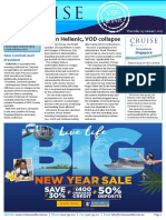 Cruise Weekly for Thu 05 Jan 2017 - Swan Hellenic and Voyages of Discovery collapse, Carnival's new Ocean Medallion, Dubai unveils cruise port plans, new Carnival Australia president, and much more