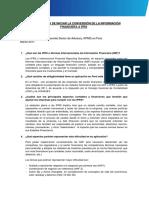 La Importancia de Iniciar La Conversion de La Informacion Financiera a Ifrs Simona Settineri