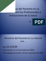 Ley 26.529 DEONTOLOGIA MEDICA