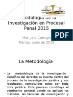 Maestria de Procesal Penal 2015 Julia Clase