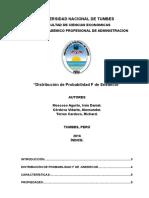 Distribucion f Snedecor 1