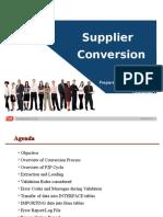 R12_Supplier Conversion.ppt