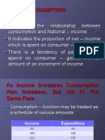 Law of Consumption