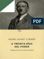 A Treinta Dias Del Poder- Turner Henry Ashby