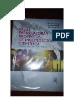 Pasos Para Elaborar Proyectos de Investigacion Cientifica (Santiago Valderrama Mendoza)