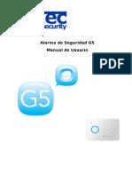 Alarma de Seguridad G5