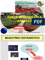 Muestreo Estadistica Aplicada Ing Civil 2016-II