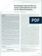 A Tailored Web-Based Intervention to Promote Women's Perceptions of and Intention For Mammography.pdf