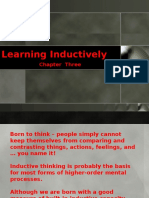 03 Chapter Three Learning Inductively
