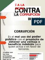 Diapositivas sobre corrupción