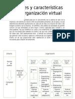 Alcances y Características de La Organización Virtual