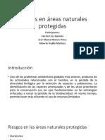 Riesgos en Areas Naturales Protegidas