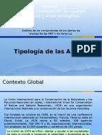 Tipologia de las Areas Naturales Protegidas