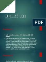 CHE123 LQ1